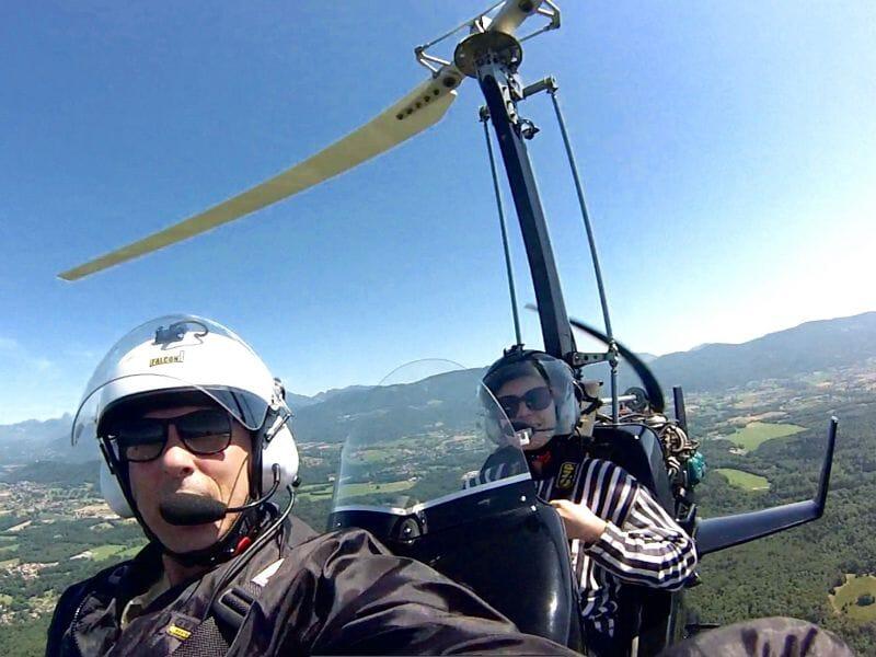 Baptême et vol découverte en ULM  Autogyre près de Toulon - Survol de la côte varoise