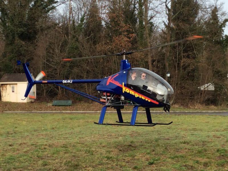Initiation au Pilotage d'Hélicoptère ULM à Etampes