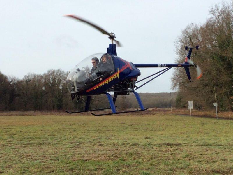 Baptême de l'Air en Hélicoptère ULM près de Paris à Etampes