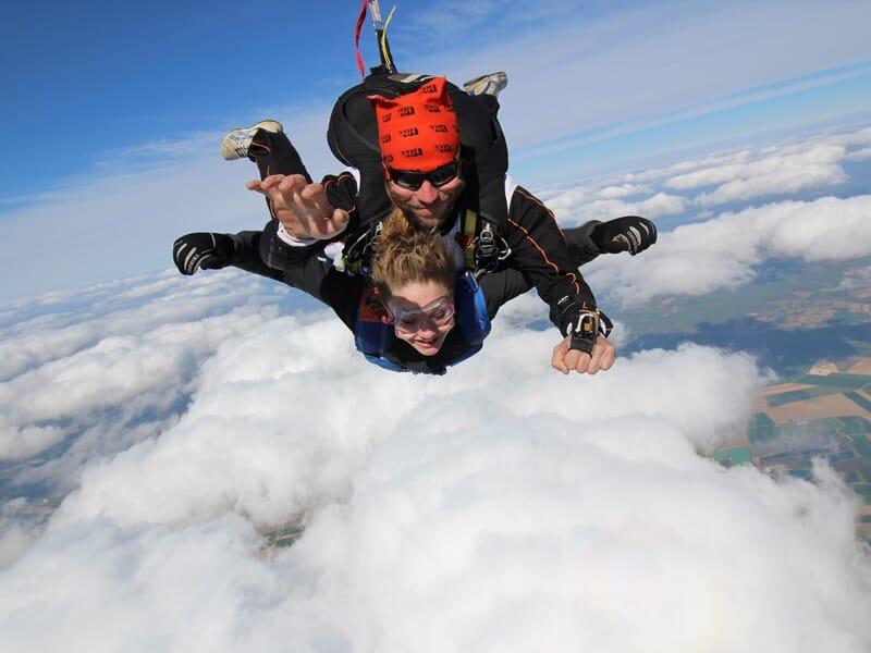 Saut en Parachute en Tandem près de Troyes à Brienne-le-Château