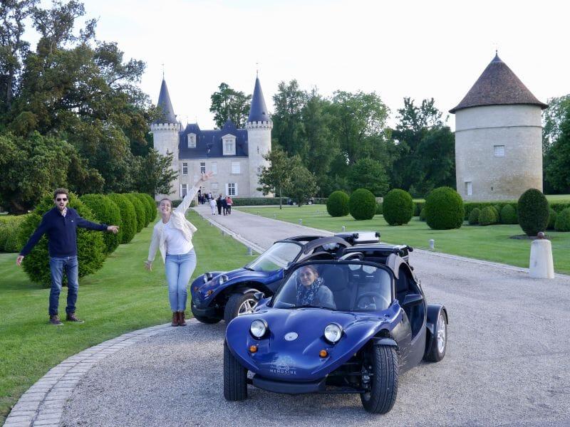 Randonnée buggy de route dans les vignobles - Bordeaux