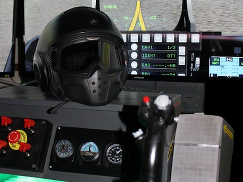 Simulateur de Vol en Avion de Chasse à Aix-en-Provence