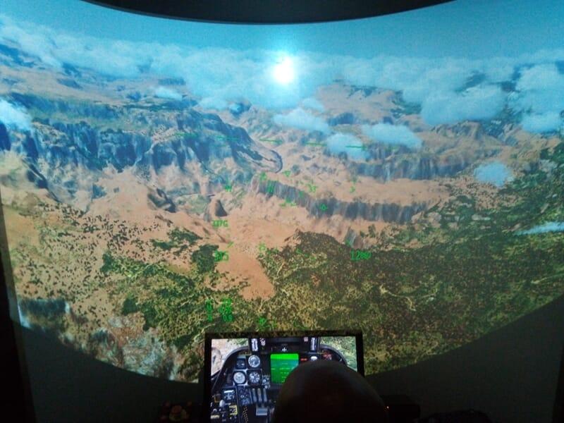Simulateur de Vol en Avion de Chasse à Marseille - Valmante