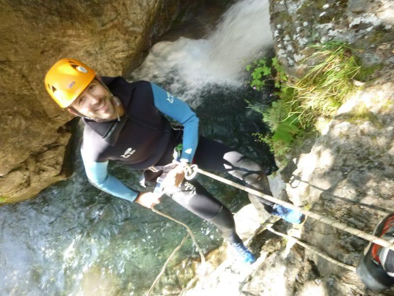Canyoning à Gavarnie - Canyon de Saugué Supérieur