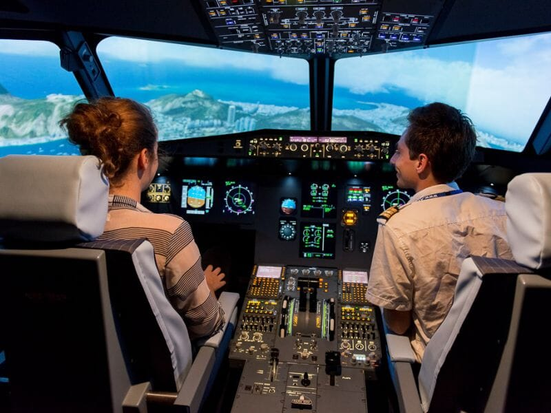 Simulateur d'Avion en Airbus A320 – Centre Paris Orly