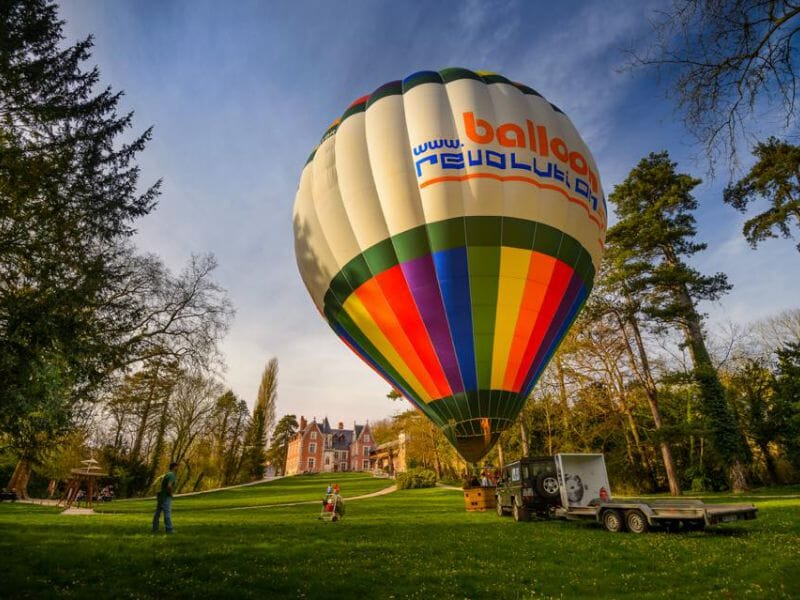 montgolfiere a amboise