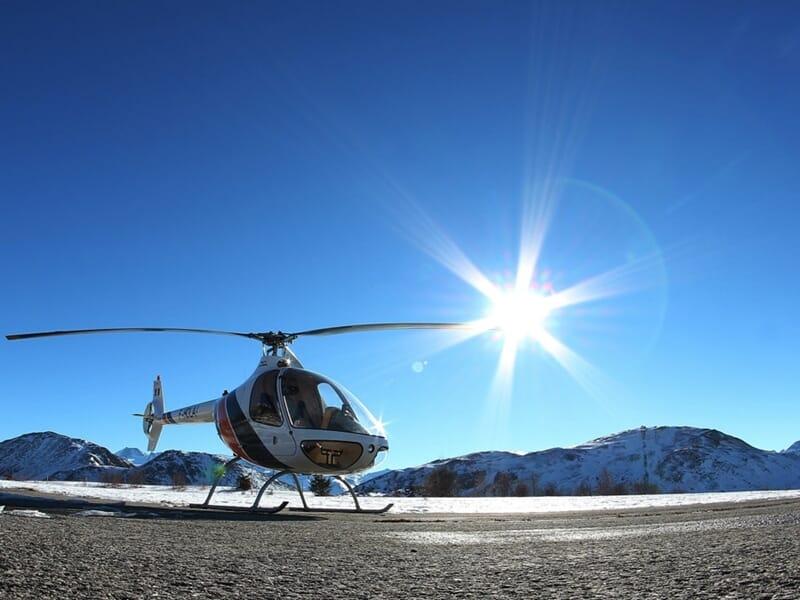 Baptême de l'Air en Hélicoptère près de Grenoble - Survol de la chaîne de Belledonne