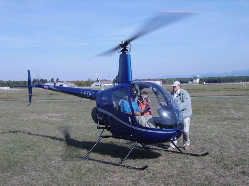 Stage de Pilotage Hélicoptère à Colmar