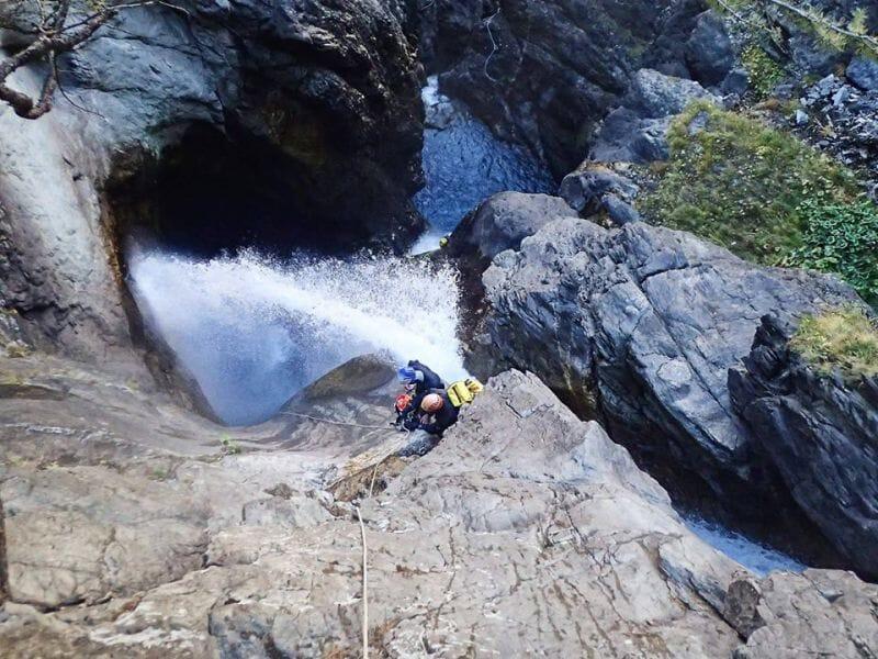 Canyoning sportif au Canyon du Pont du Diable - Bellecombe-en-Bauges