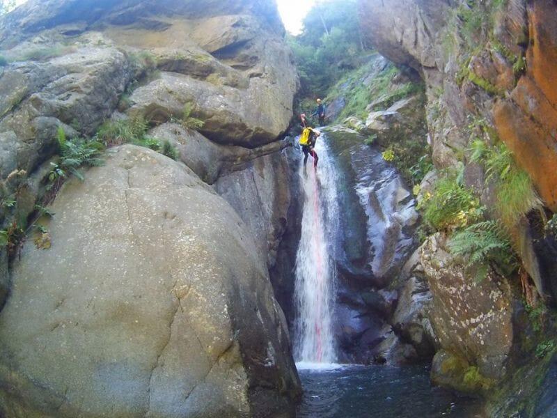 Canyoning sportif au Canyon de Montmin - Haute-Savoie