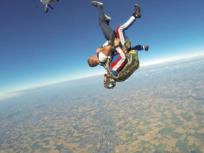 Saut en Parachute en Tandem à Abbeville