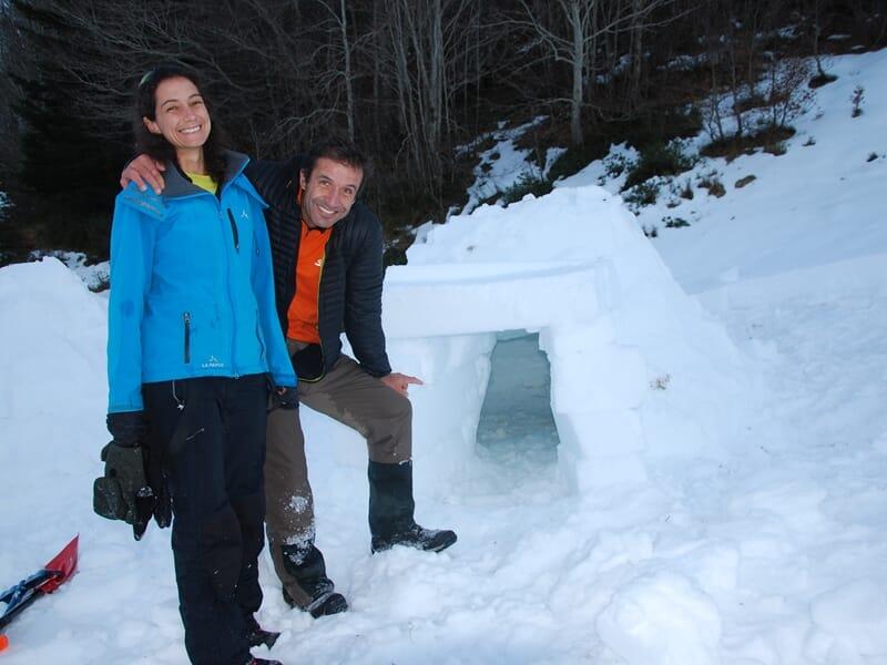 Week-end Igloo et Raquettes à Neige dans les Pyrénées