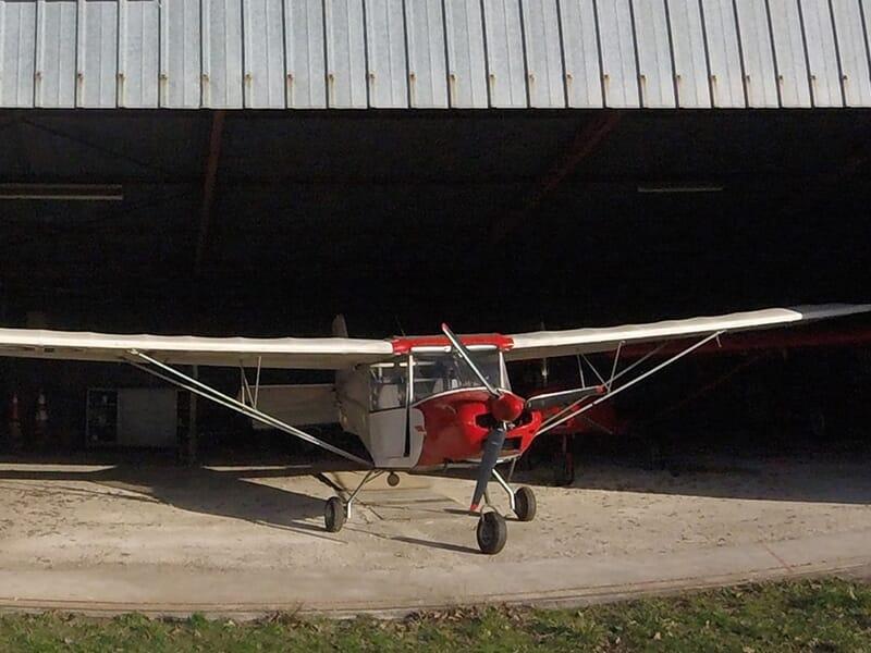 Initiation au pilotage d'un ULM multiaxes près d'Orléans à Vouzon