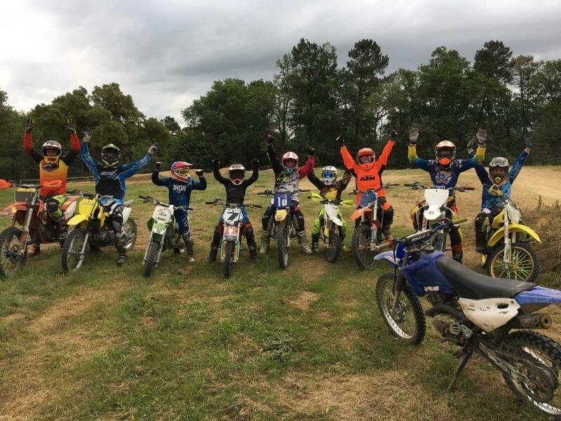 Initiation Enfant au Moto-Cross près de Bordeaux - Mérignac