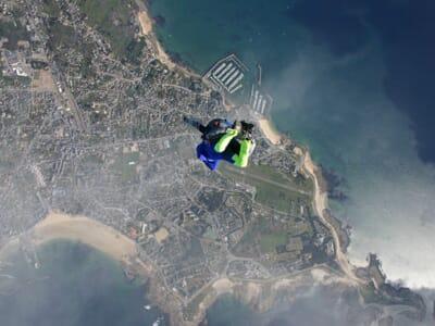 Saut en Parachute en Tandem à Quiberon