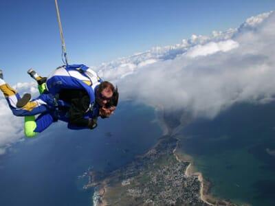 saut en parachute quiberon avis