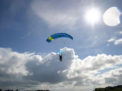 saut en parachute morbihan