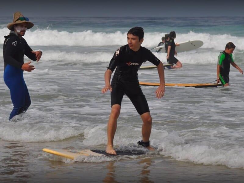 Ecole de Surf dans le Bassin d'Arcachon près de la Teste-de-Buch - Gironde