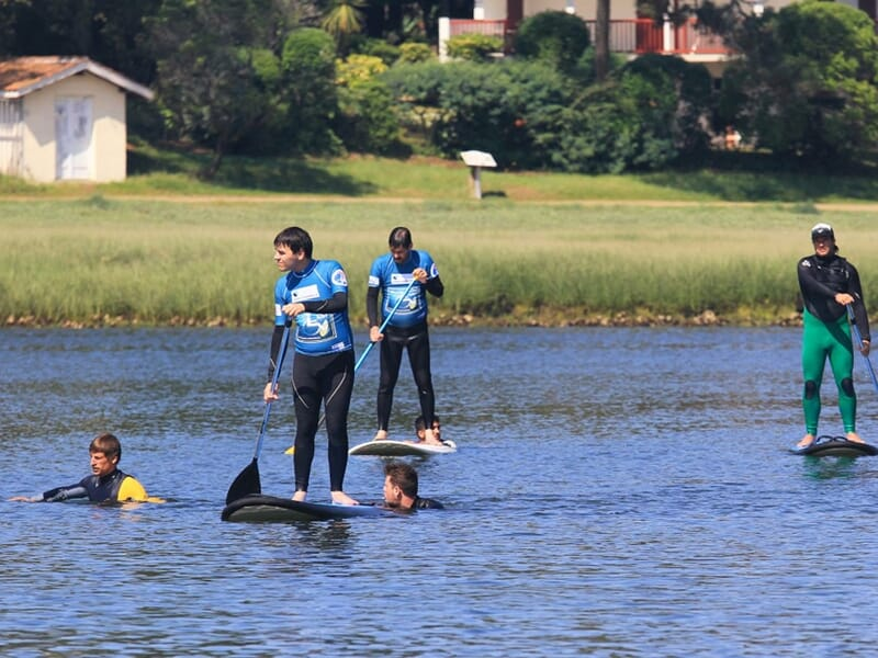 Stand Up Paddle dans le Bassin d'Arcachon - Gironde