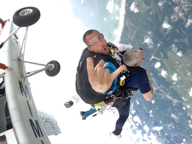 Saut en Parachute en Tandem à Soulac-sur-Mer