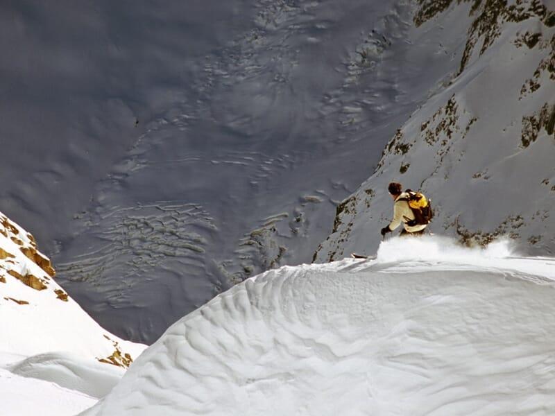 Descente de la Vallée Blanche à Chamonix