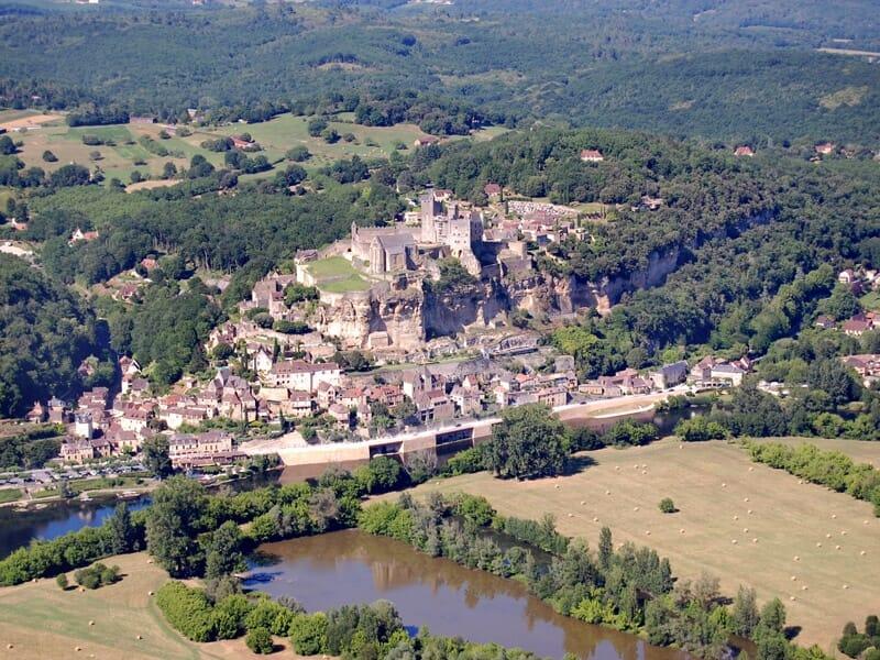 Baptême ULM Multiaxes près de Périgueux - Survol de la Dordogne
