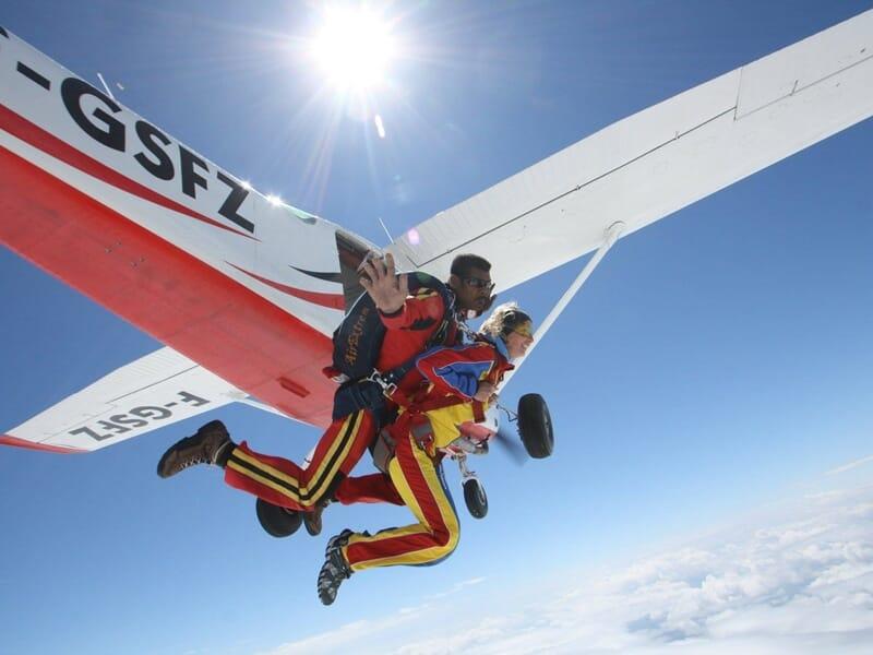 Saut en Parachute en Tandem à Lons-le-Saunier