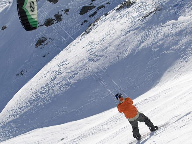 Stage de Snowkite à l'Alpe d'Huez