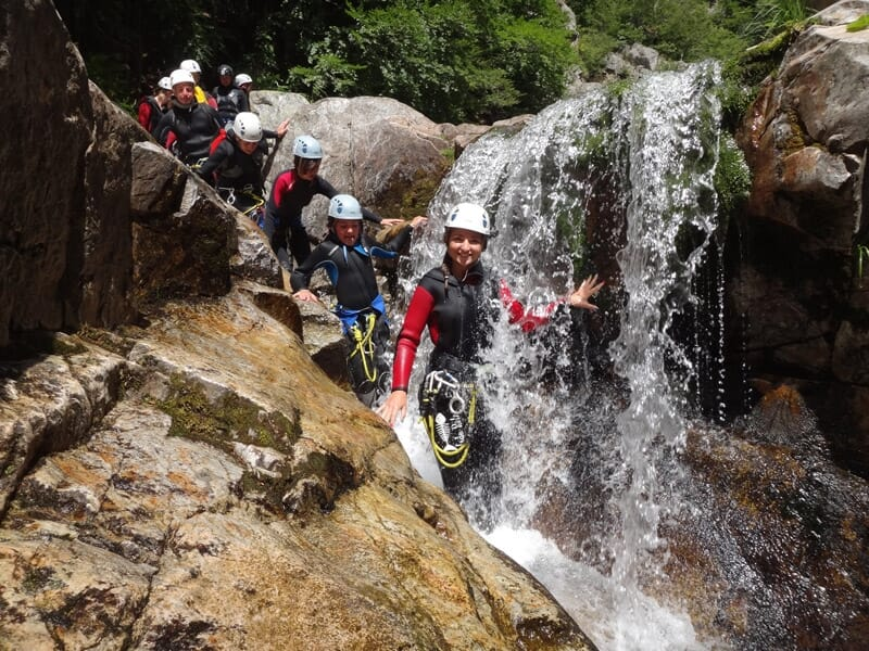 Canyoning près d'Aubenas - Canyon de la Haute Borne