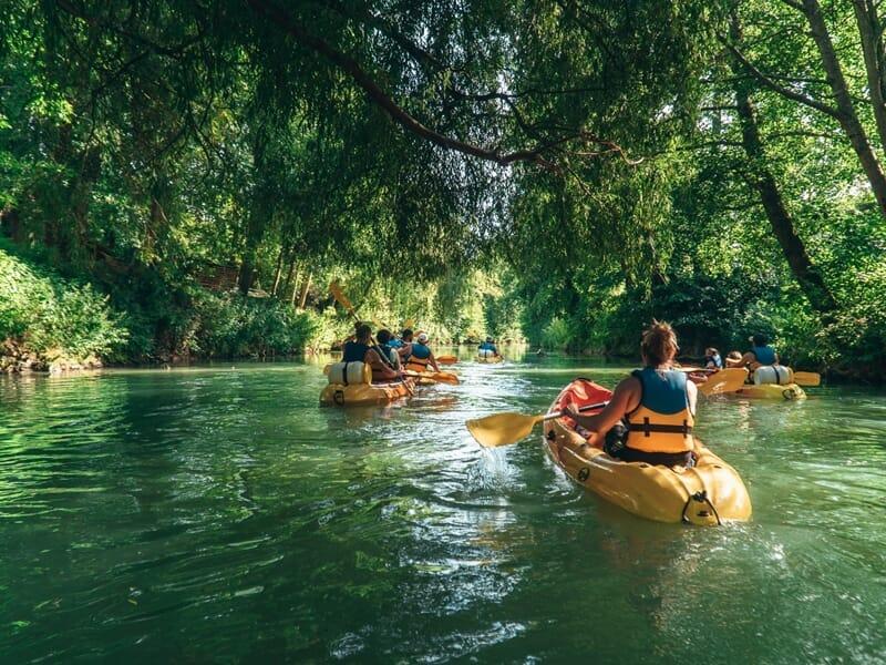 Canoë-Kayak près de Paris - Descente du Grand Morin