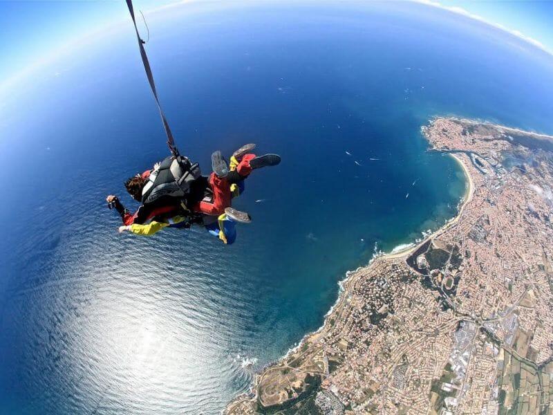 Saut en Parachute en Tandem aux Sables d'Olonne