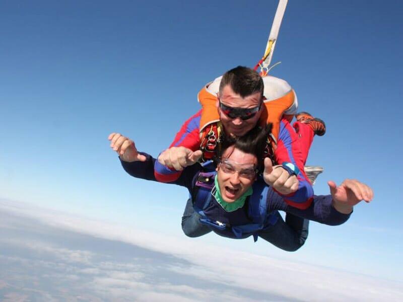 Saut en Parachute en Tandem à Dieppe