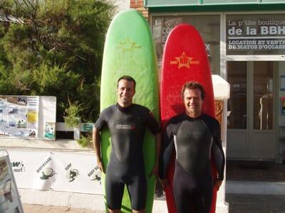 Surf / bodyboard- Stage plein-temps