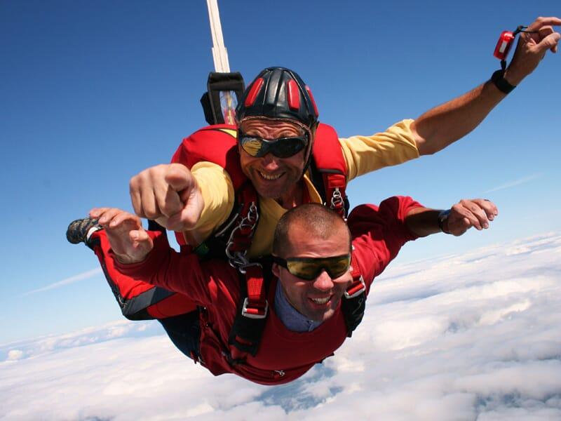 Saut en Parachute en Tandem à La Réole