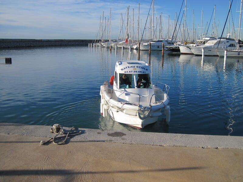 Permis Bateau Côtier et/ou Fluvial près de Montpellier - Palavas-les-Flots