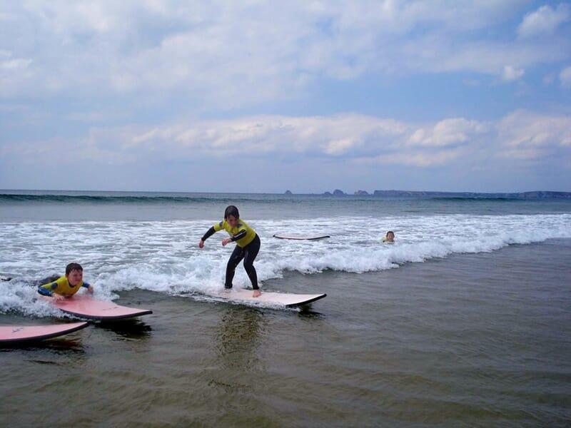 Cours de Surf à Crozon-Morgat - Finistère