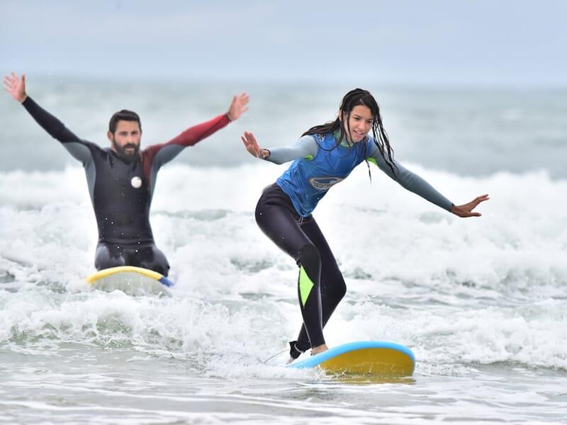 Cours de Surf à Seignosse - Landes
