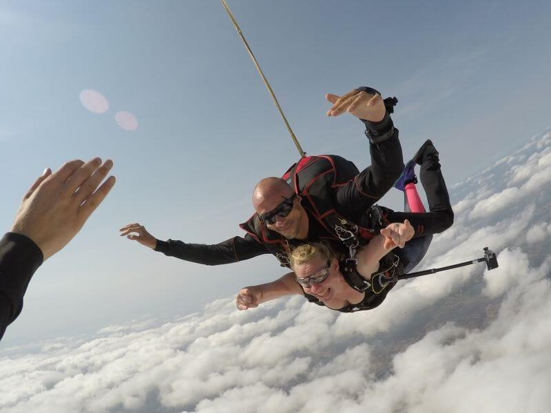Saut en Parachute en Tandem près de Toulouse à Revel