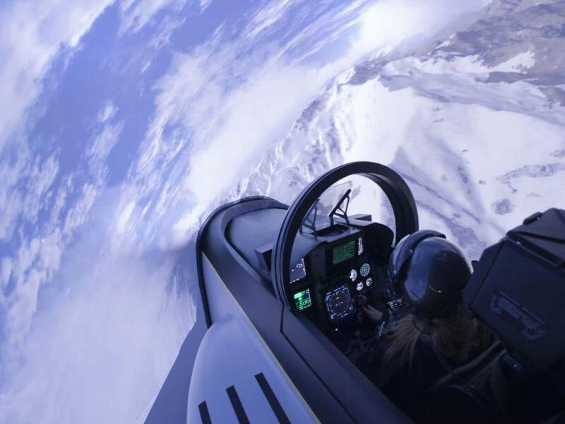 Simulateur de Vol en F18 Super Hornet à Lyon