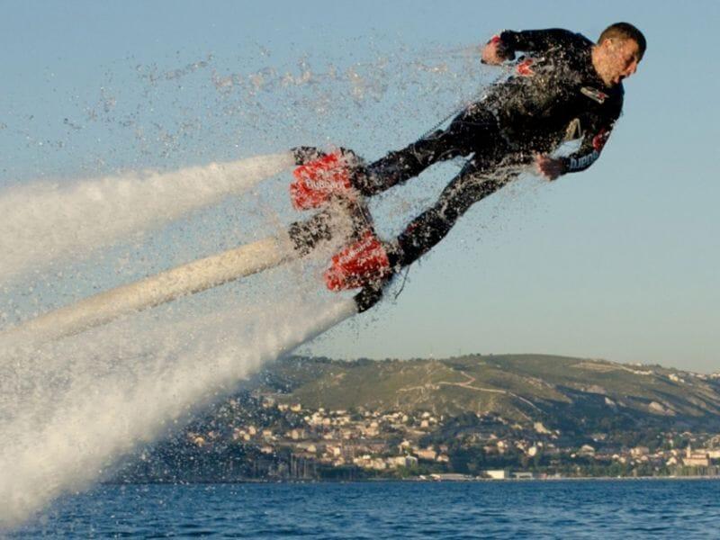 Flyboard et Hoverboard - Plage de Pampelonne
