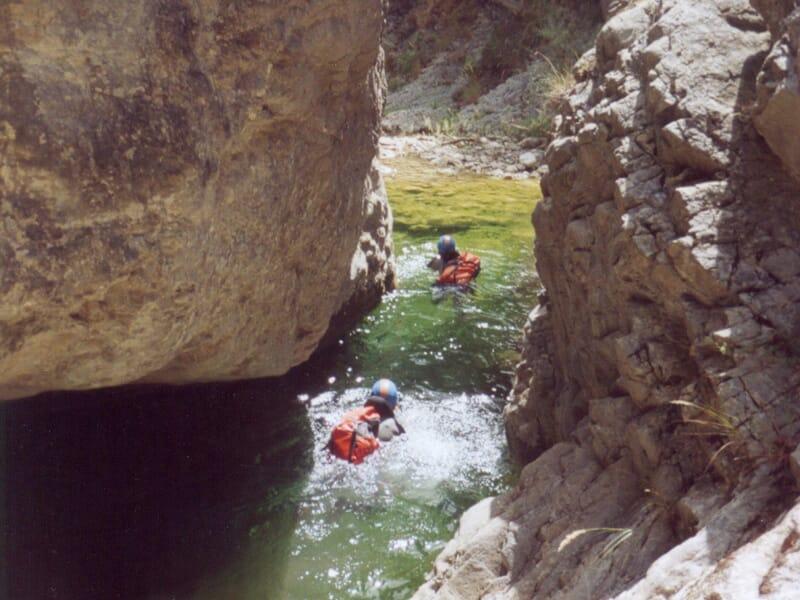 Canyoning aux Gorges du Loup - La Colle-sur-Loup