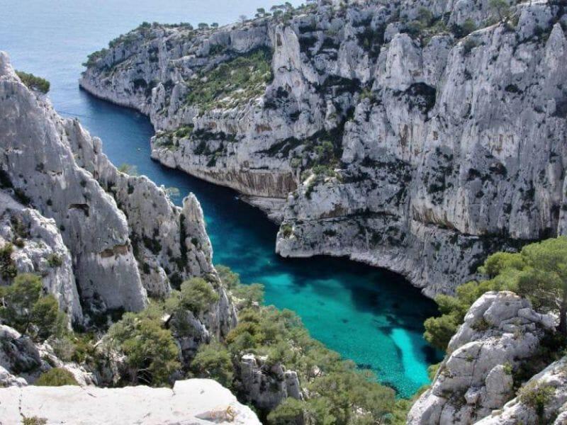 Randonnée sur les Calanques de Cassis près de Marseille