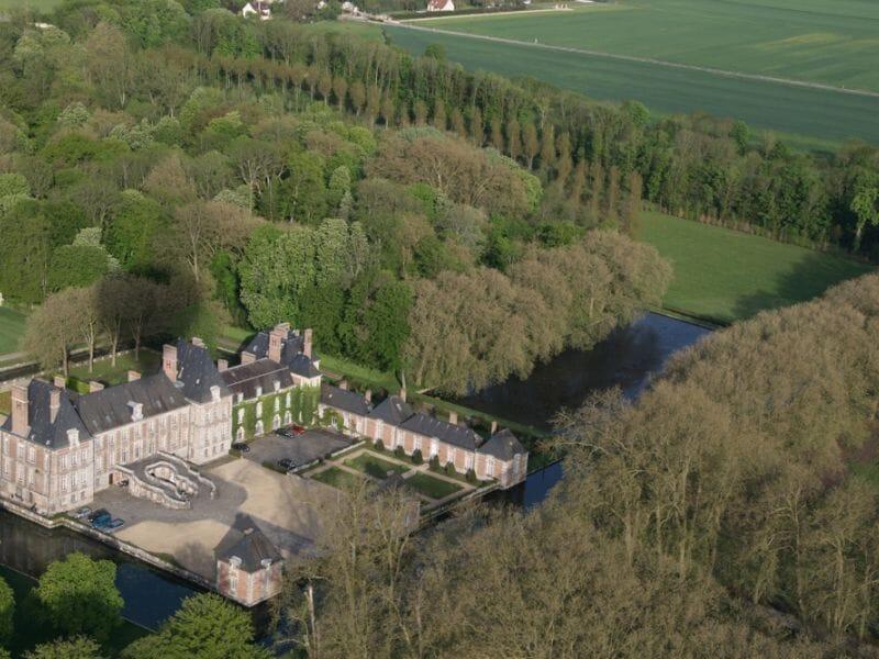 Vol en Montgolfière près de Paris - Survol du Château de Fontainebleau
