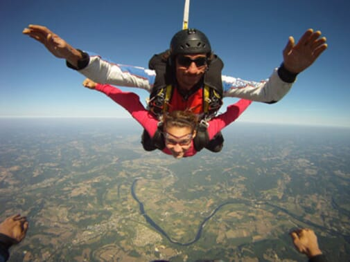 parachutisme dordogne