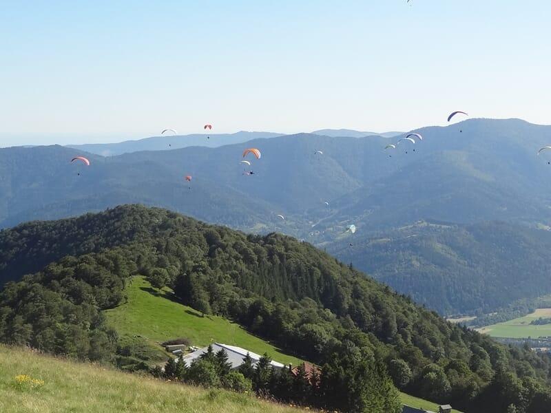 Stage de 5 jours d'initiation au parapente à Gérardmer dans les Vosges