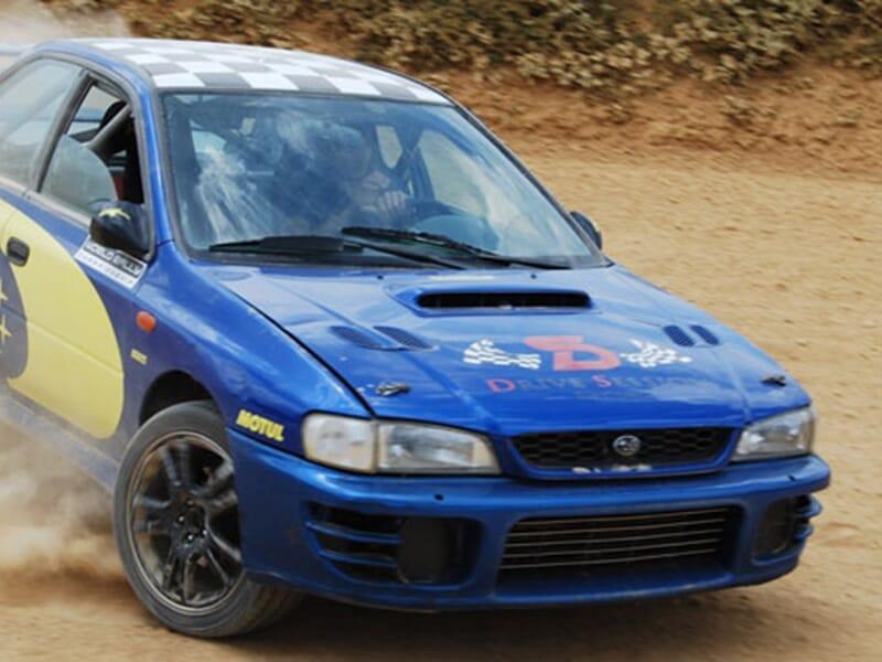Stage de Pilotage Rallye sur Circuit en Terre près de Bordeaux