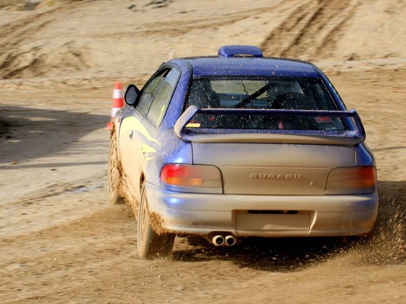 Coaching Subaru Impreza Prodrive - Circuit de Minzac