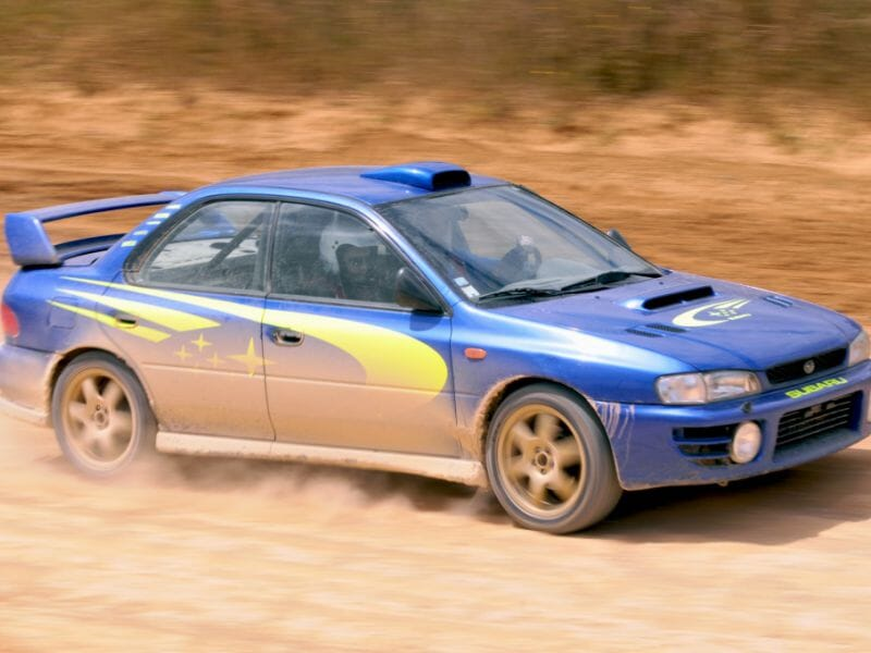 Stage de pilotage rallye Subaru Impreza - Circuit sur terre de Lespielle