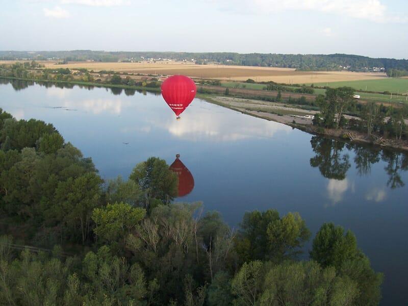 Vol en Montgolfière à Saumur ou Chinon - Tour au-dessus de l'Anjou