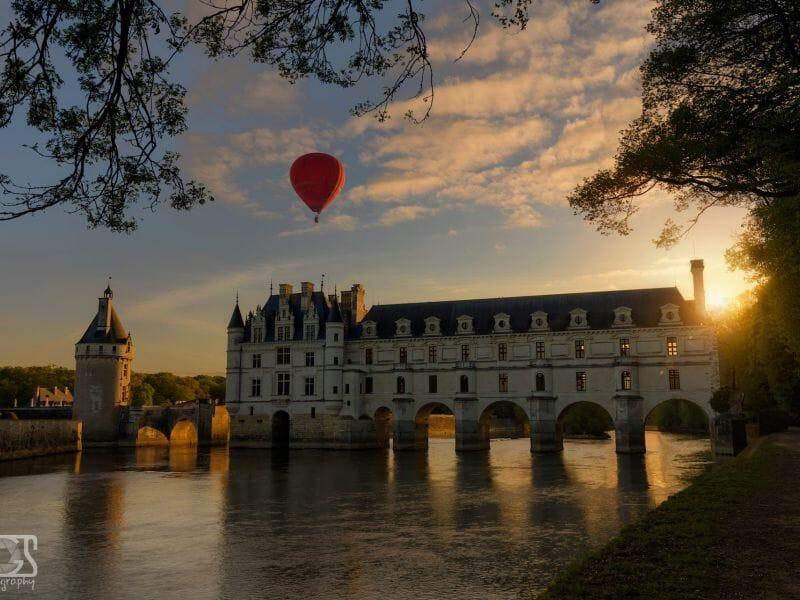 Vol en Montgolfière près de Tours - Baptême au-dessus des Châteaux de Touraine